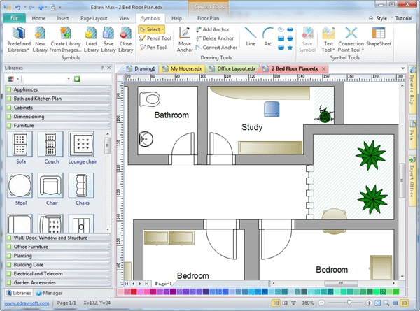 6 best 2d drawing software free download for windows mac for Blueprint software download