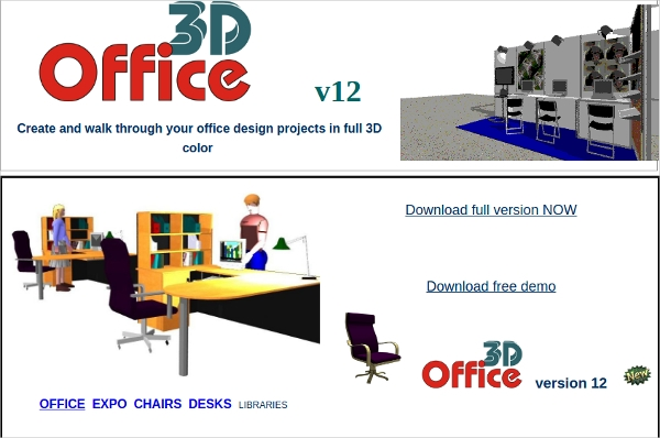 6 best office layout software free download for windows for Free 3d office design software
