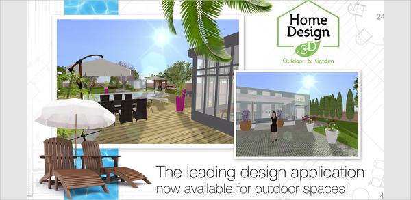 3d outdoor garden