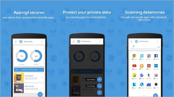 appvigil vulnerability scanner