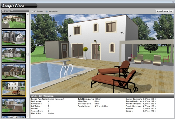 6 best 3d architecture software free download for windows for Architecte 3d express