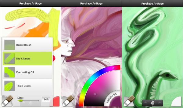 artrage oil painter