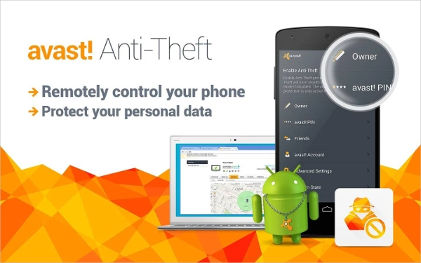 avast anti theft