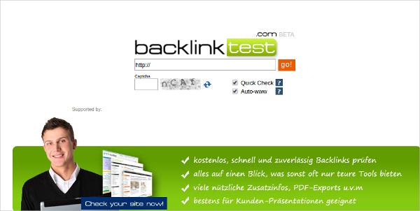 backlink test