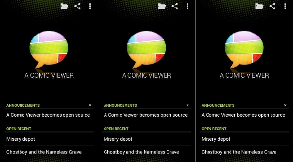comic viewer for android