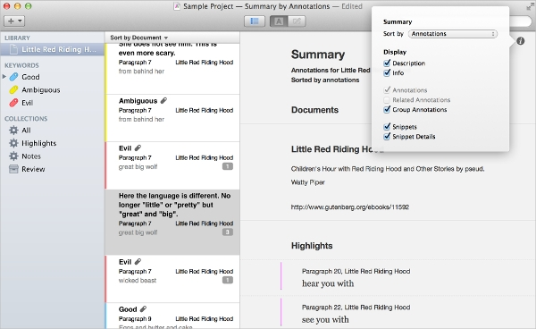content analysis for mac