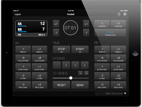 digital sport scoreboard