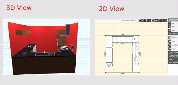 Wonderful Easy Planner D With Kchen 3d Planer