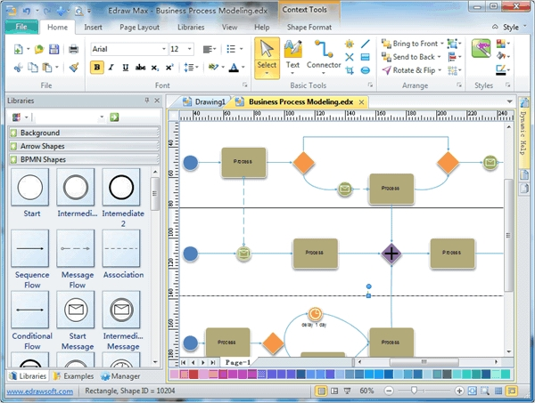 edraw process modeling software