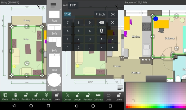 6 best floor design software free download for windows mac android downloadcloud - App for arranging furniture in a room ...