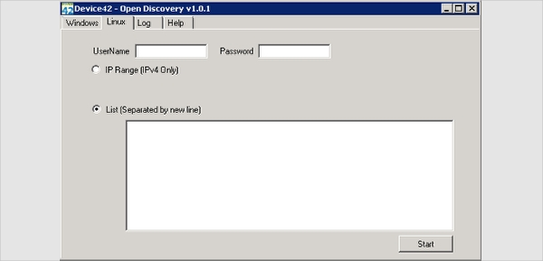 free network discovery
