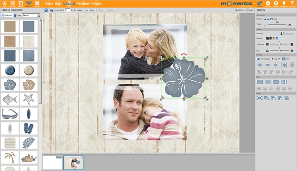 free photo book software