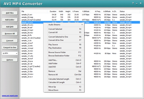 h264 to mp4 converter