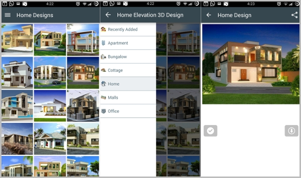 home elevation 3d designs