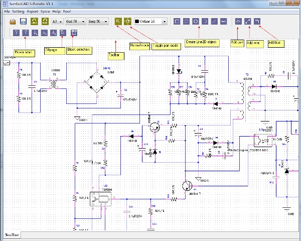 jumbocad schematic