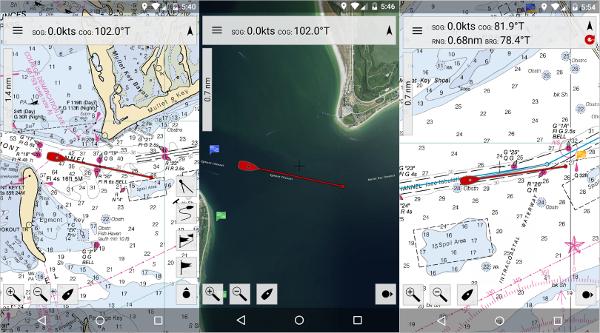 mx mariner marine charts