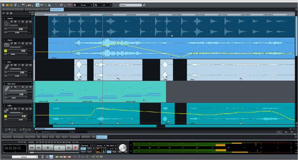 magix music recording software