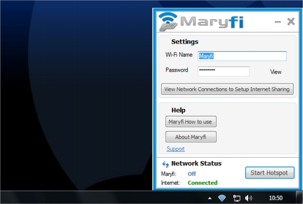 maryfi free virtual router