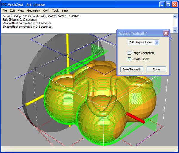 meshcam cnc software