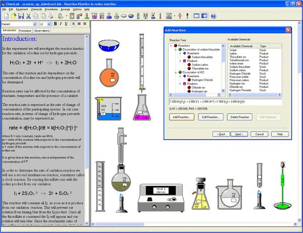 model chem lab