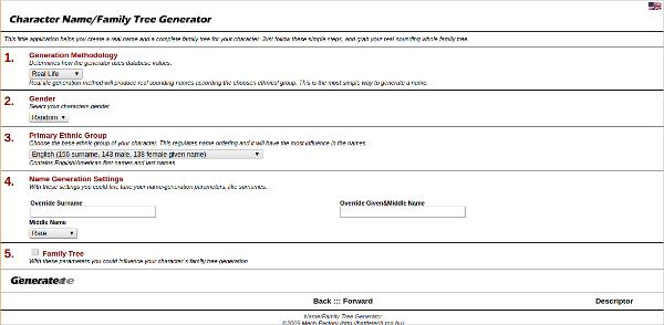 name family tree generator
