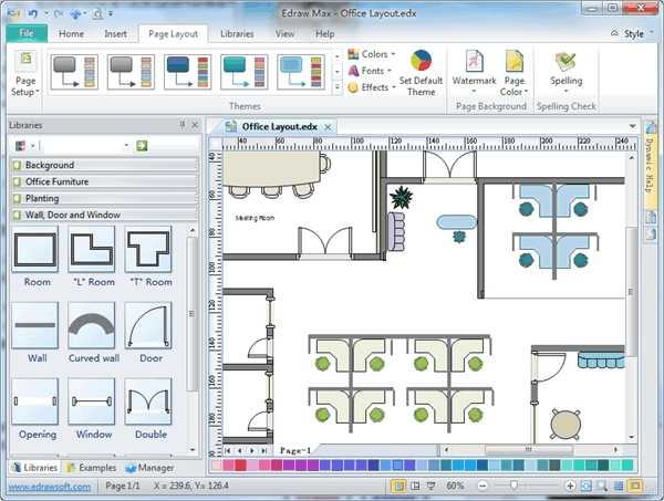6 best office layout software free download for windows for Office layout design online