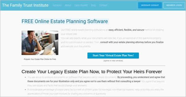 online estate planning software
