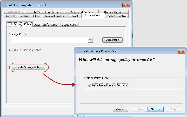 online incremental backups