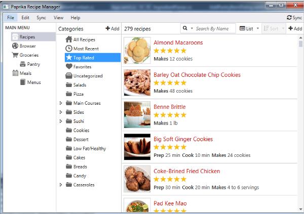 paprika recipe manager