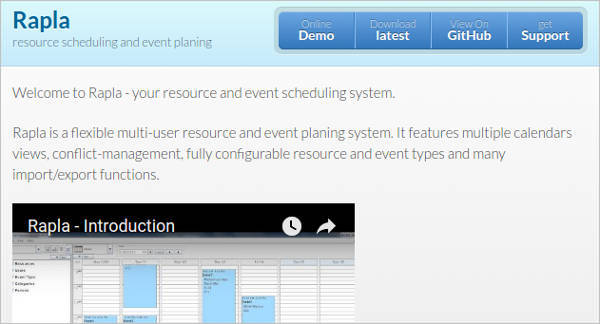 rapla resource scheduling3
