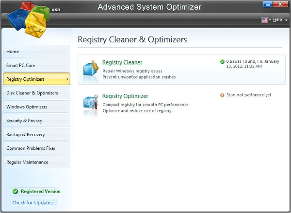 registry optimizer for windows