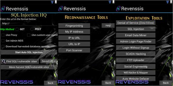 revenssis penetration testing suite