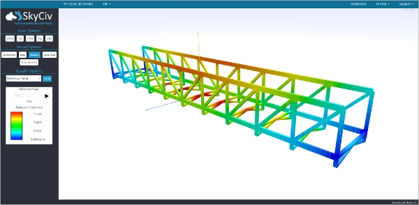 sky civ structural analysis software