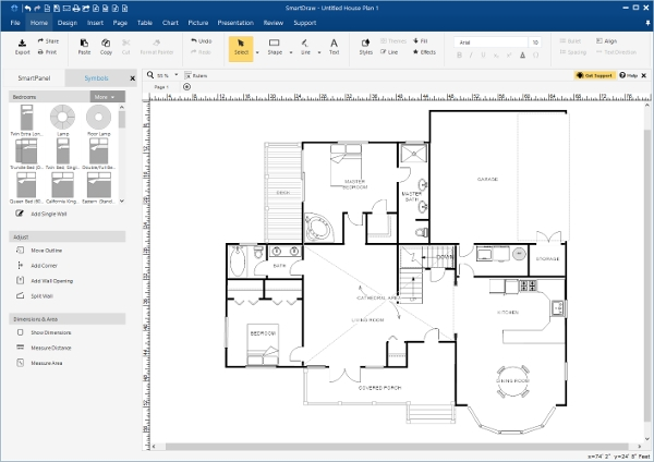6 best elevation design software free download for Blueprint builder free