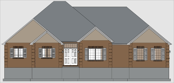 soft plan elevation