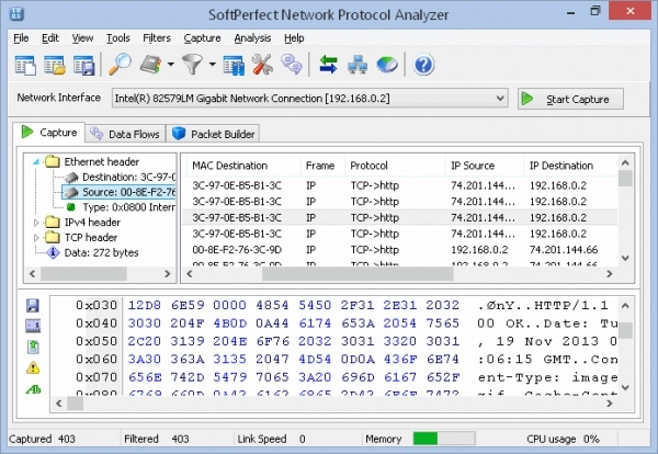 softperfect network