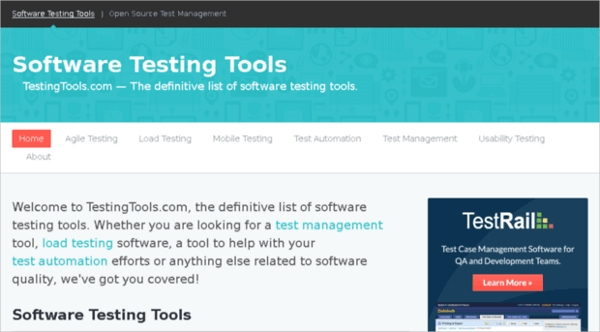 software test automation tools