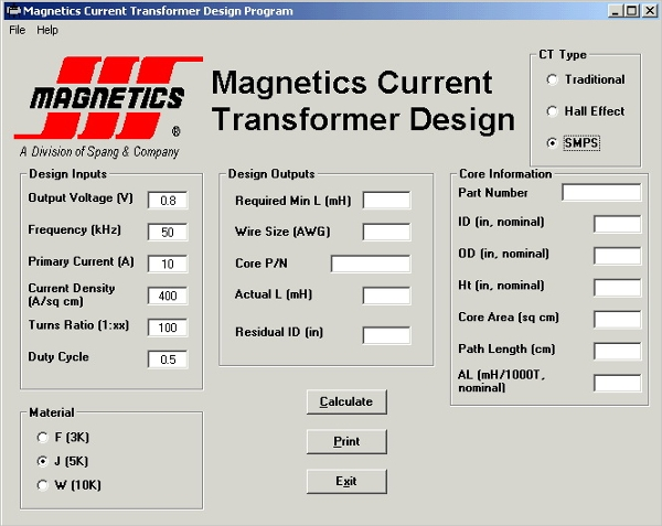 transformer calculation software1
