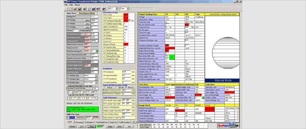 transformer design software