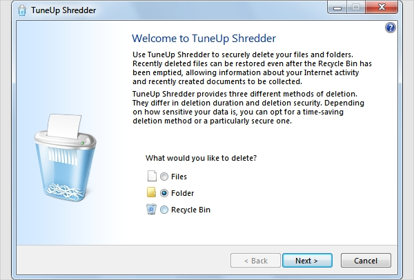 tuneup shredder