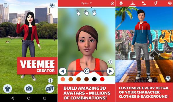 veemee 3d avatar creator
