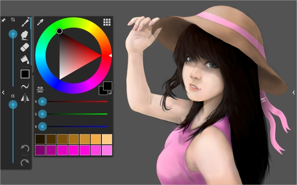 6 best digital drawing software free download for windows for Paint software for mac