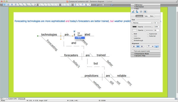 automatic sentence diagramming software & sentence diagramming  : sentence diagramming software - findchart.co