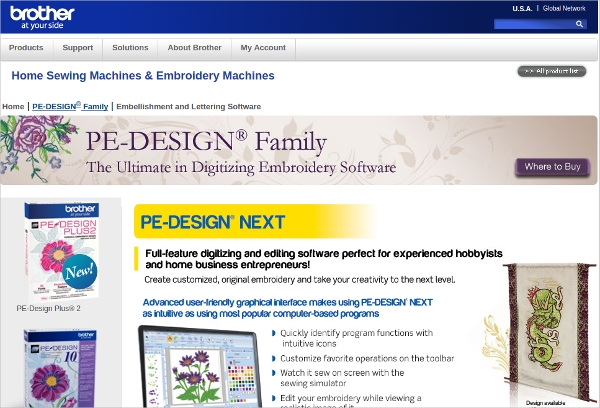 Embroidery Design Software Free Brother