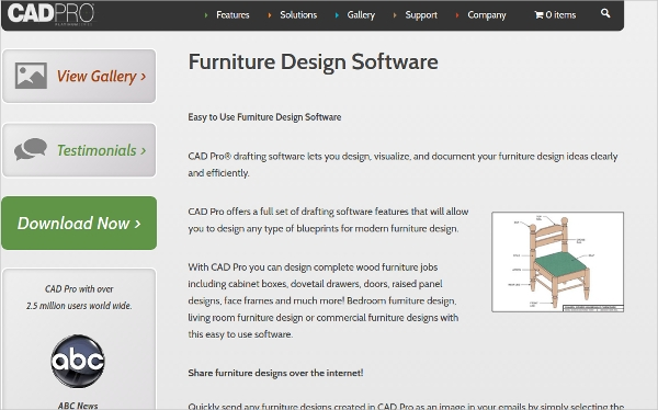 12 best furniture design software free download for Free drafting software for windows 10
