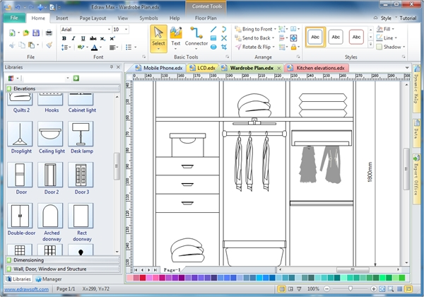 Free woodworking furniture design software for Woodshop layout software