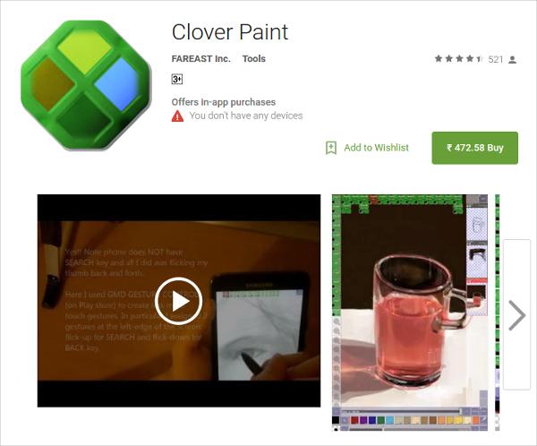 clover paint