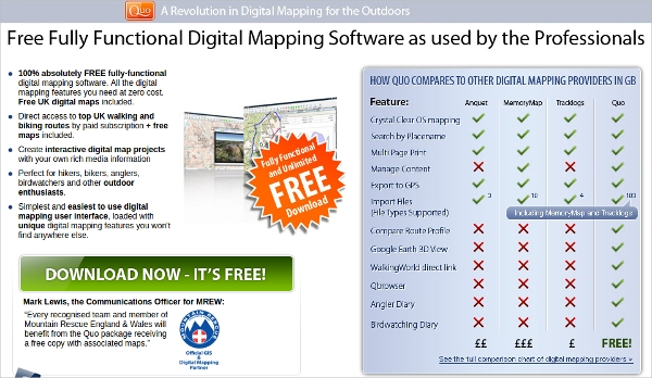 digital mapping software