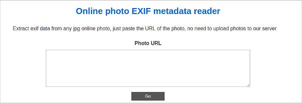 exif metadata reader