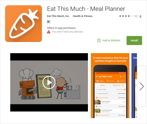 eat this much meal planner